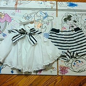 Other - Criss cross swing top and Shorts Set